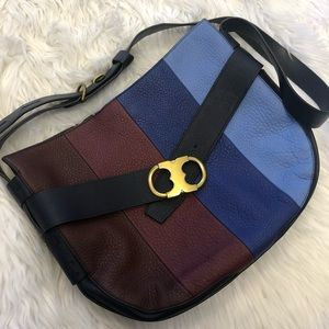 🕶🌵Tory Burch Multicolored Leather Satchel🌵🕶